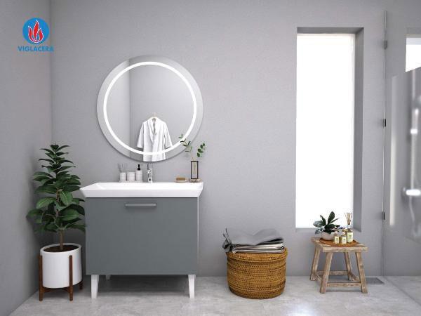 Những mẫu Chậu rửa cho nhà vệ sinh hẹp