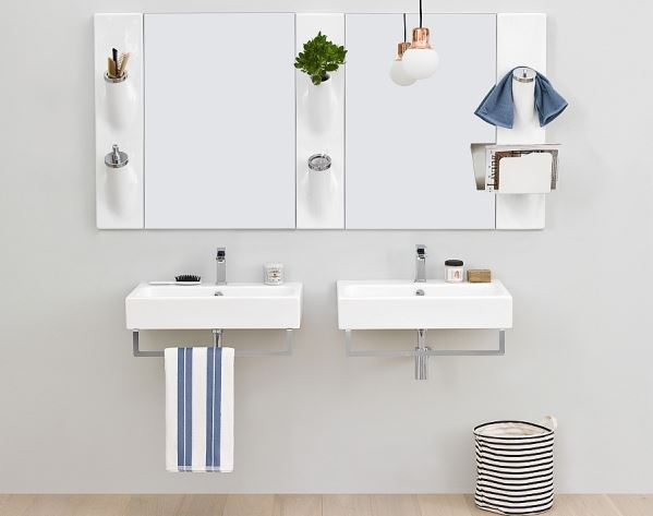 Hướng dẫn cách lắp đặt chậu rửa liền tủ?