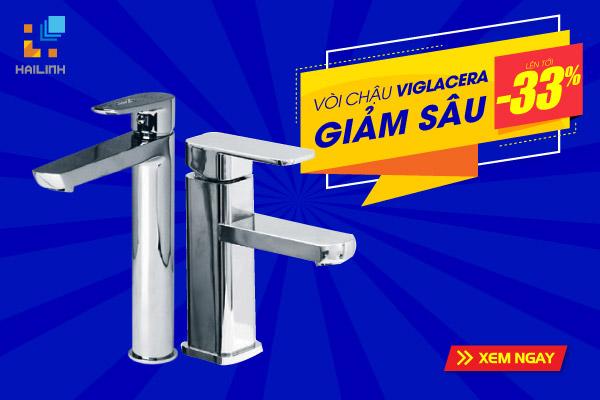 Top mẫu chậu rửa mặt Viglacera đẹp giá rẻ